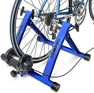 Relaxdays Bicicleta estática, Convierte Bicicleta común a estática, Mide: 54 x 46 x 20 cm